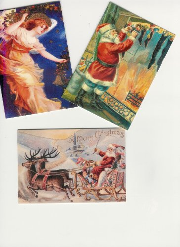 VICTORIAN CHRISTMAS CARDS ASSORTMENT
