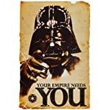 1art1 52077 Poster Star Wars Darth Vader L'Empire à Besoin de Vous 91 x 6