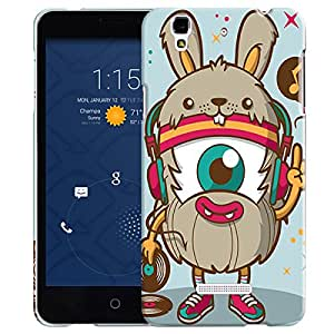 Theskinmantra Rat with 3 eyes back cover for Micromax Yu Yureka