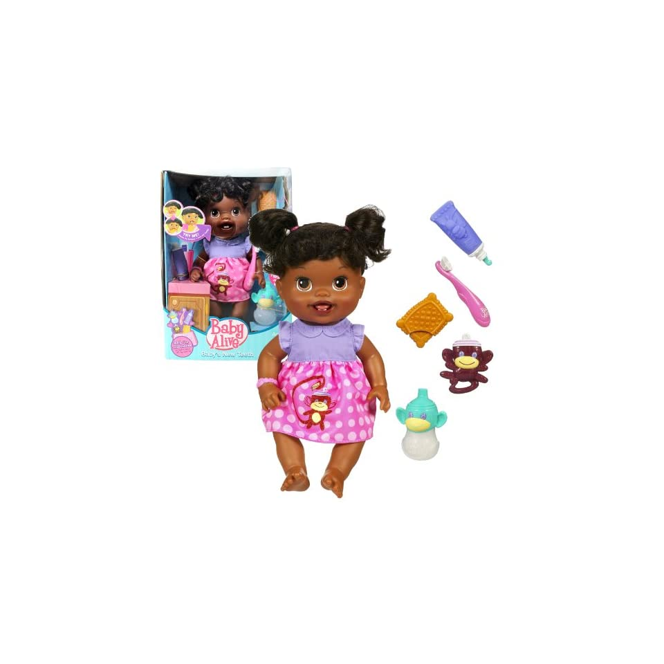 Hasbro Year 2010 Baby Alive Interactive 13 Inch Doll Set