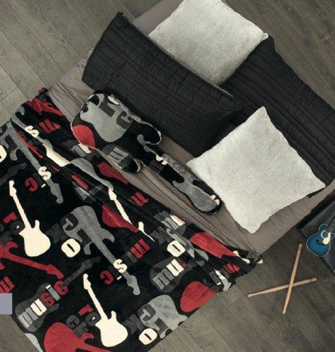 Guitar Fleece Blanket front-725455