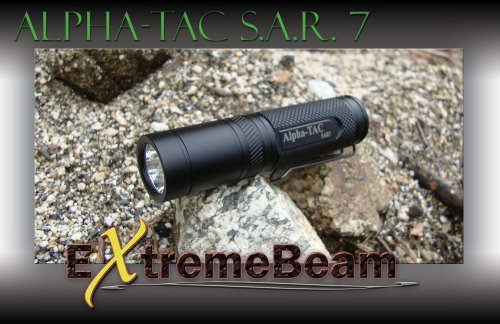 Extremebeam S.A.R.7 For Extreme Duty Service High-Output Precision Mini Led Tactical Flashlight (Anti-Recoil) (2,500 Lux)