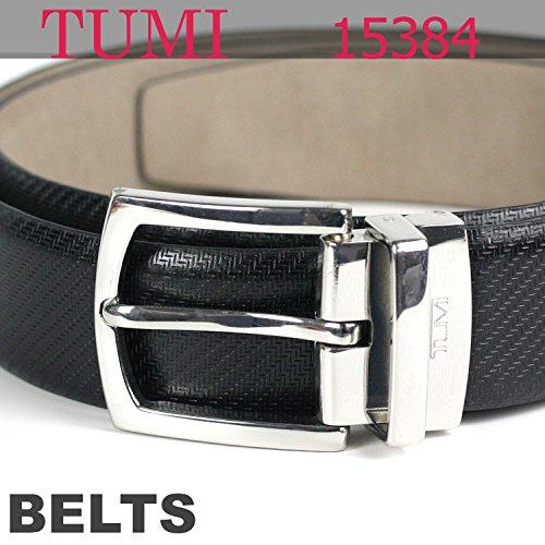 (トゥミ) TUMI ベルト テクニカル プリント・ レザー 15384 ベルト ブラック 黒 メタル[並行輸入品]