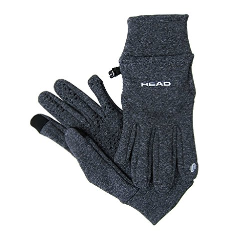 Head Multi Sport Gloves With Sensatec Black Large: Head Multi-Sport Running Gloves With SensaTEC-Gray (Medium