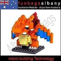 Charizard Pokemon Loz Block Lizardon Building Blocks Micro Nano Weagle Blocks /Item# R6 Sg5 Eb 48 Q22449