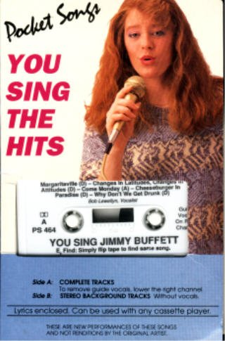 You Sing The Hits Of Jimmy Buffett (Karaoke Audio Cassette) (Lyrics Included) (Karaoke Margaritaville compare prices)