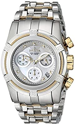 Invicta Women's 16108 Bolt Analog Display Swiss Quartz Two Tone Watch
