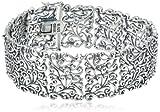 Sterling Silver Oxidized Bracelet, 7.25