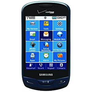 Amazon.com: Samsung Brightside, Sapphire Blue (Verizon Wireless): Cell