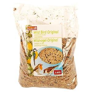 1kg Wildvogelfutter für Vögel, Vogelhaus, Vogelfutter