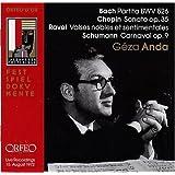 Partita Bwv 826/Sonate Op.35/Carnaval Op.9/+