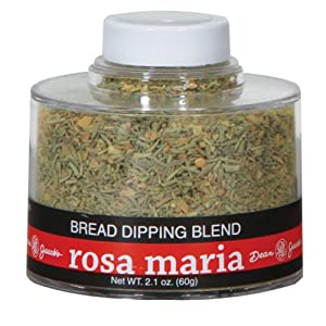 Dean Jacob's Rosa Maria Bread Dipping Blend, 2.1 Oz Stacking Jar