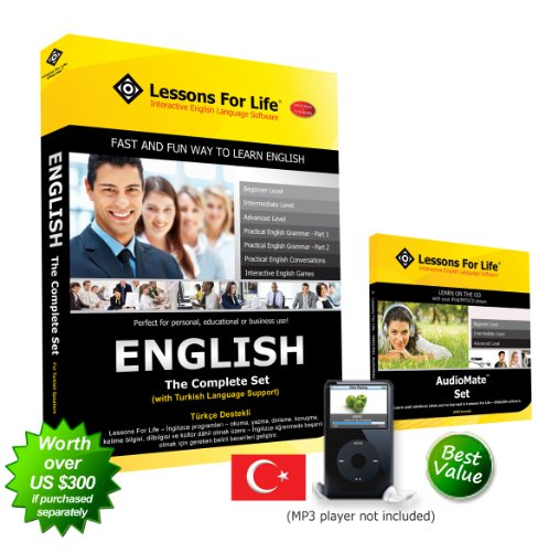 English (Us) For Turkish Speakers - The Complete Set