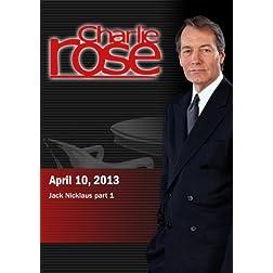 Charlie Rose - Jack Nicklaus part 1 (April 10, 2013)