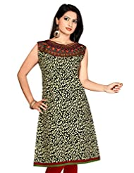 Jaipuri Anarkali Cotton Long Printed Long Pakistani Fancy Kurtis