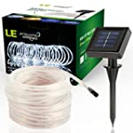 LE� 10m 100 LED Solar Lichterkette Li...