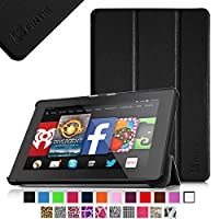 """Fintie Fire HD 7 Tablet (2014 Oct Release) SmartShell Case Cover Ultra Slim Lightweight with Auto Sleep / Wake Feature (will only fit Fire HD 7"""" 4th Generation 2014 model) from Fintie"""