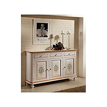 CREDENZA BASE DECORATO COME FOTO NAPOLETANA DECORATA SUPER OFFERTA