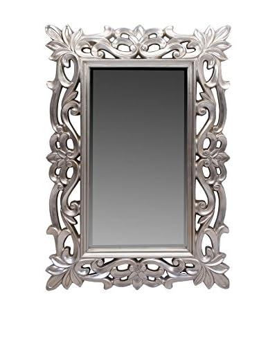 Alexandra House Specchio da Parete Classic Lux argento