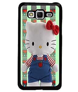 PrintVisa Metal Printed Hello Kitty Designer Back Case Cover for Samsung Galaxy Grand Prime G530F/ G530H-D4946