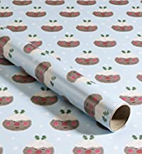 4m Christmas Pudding Kids' Christmas Wrapping Paper