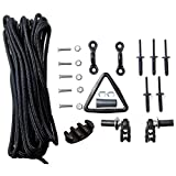 Deluxe Kayak Anchor Trolley Kit with Harken Pulleys from Yak Gear