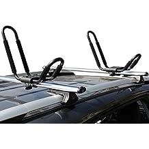 Ace-Trades Kayak J-Bar Rack Carrier Canoe Boat Surf Ski Roof Top Mounted On Car SUV Crossbar