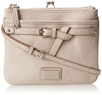 Nine West Pick Your Pleasure Crossbody Crossbody Bag,Grey,One Size