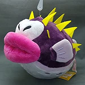 Super mario bros 6 inch anime animal stuffed for Puffer fish stuffed animal