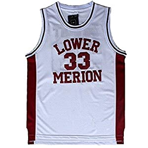 lower merion 33 lower merion kobe jersey Kobe Bryant jersey #33 (White, Large)