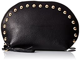 Rebecca Minkoff Dome with Studs Pouch, Black, One Size