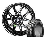 [235/55R19]GOODYEAR / ICE NAVI SUV スタッドレス [2/-][KYOHO / STEINER S-LINE SL-5 (GBK) 19インチ] スタッドレス&ホイール4本セット レクサスRX(10系)