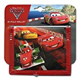 Cars 2 Lightning McQueen Hammer Down Non-Woven Bifold Wallet