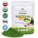 Matcha House Premium Ceremonial Grade Green Tea Powder 84g (3oz) - No Additives - Radiation Free - Zero Sugar - First Harvest - FDA Organic Certified (Color: Matcha House Tea, Tamaño: Matcha House Tea)
