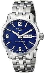 Tissot Men's T0554301104700 PRC 200 Analog Display Swiss Automatic Silver Watch