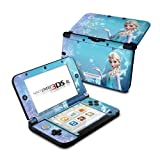 Queen of Ice and Snow Design Protective Decal Skin Sticker for Nintendo 3DS XL (2014)(Matte Satin)
