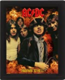 AC/DC Highway to Hell 10 x 8 cm Framed 3D Lenticular Poster