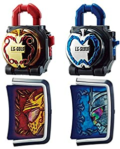 Kamen Rider Gaim DX Golden & Silver Ringo (Apple) Lock Seed Kamen Rider Malus & Kamuro Set