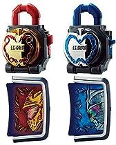 仮面ライダー鎧武 (ガイム) DX金&銀のリンゴロックシード 仮面ライダーマルス&冠セット
