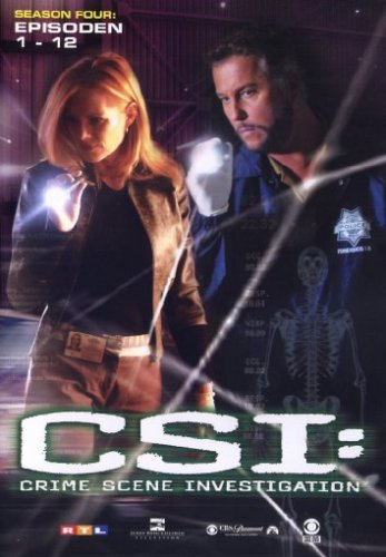 CSI: Crime Scene Investigation - Season 4.1 (Amaray) [3 DVDs]