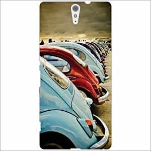 Sony Xperia C5 Ultra Back Cover - Silicon Old Car Designer Cases