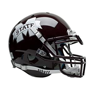 NCAA Mississippi State Bulldogs Authentic XP Football Helmet by Schutt