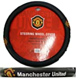 - Manchester United Fc Manu Football Soccer Club Steering Wheel Cover Car Truck SUV