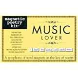 Magnetic Poetry - Music Lover Kit - Words for Refrigerator - Write Poems and Letters on the Fridge