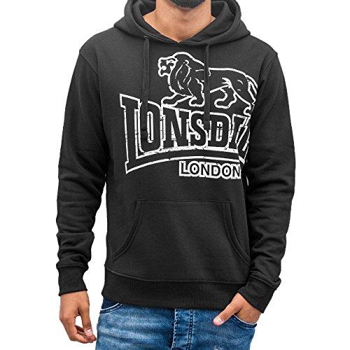 Lonsdale London Uomo Maglieria / Felpa con cappuccio Tadley