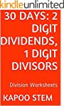 30 Division Worksheets with 2-Digit D...