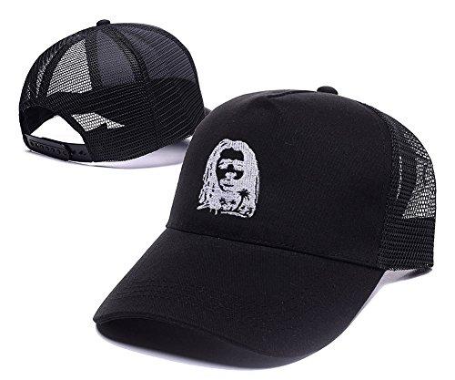 JXJ-Peter-Tosh-Art-Adjustable-Embroidery-Leisure-Mesh-Hat-Baseball-Mesh-Cap