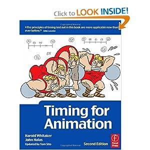 Timing for Animation Harold Whitaker, John Halas Obe, Tom Sito