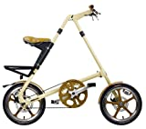 STRIDA(ストライダ) アルミ製16インチ折りたたみ自転車 STRIDA LT クリーム