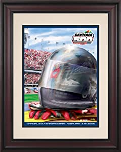 NASCAR Daytona 500 Program Framed Vintage Advertisement Race Year: 48th Annual - 2006 by Mounted Memories